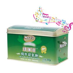 纽瑞滋纯牛初乳粉音乐盒装