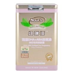 纽瑞滋海藻DHA+ARA核桃油软胶囊-孕妇专用