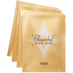 HABA激白淡斑焕彩面膜