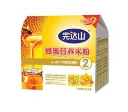完达山蜂蜜配方营养米粉