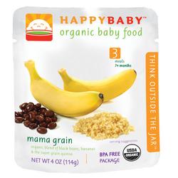 禧贝香蕉黑豆藜麦泥