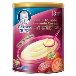嘉宝番茄牛肉配方营养米粉
