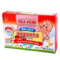 华亨婴幼儿配方蛋黄番茄营养面