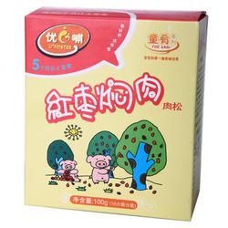 【其他】优哺婴幼儿童肴系列肉松-红枣焖肉