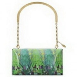Roberto Cavalli森林印花手袋