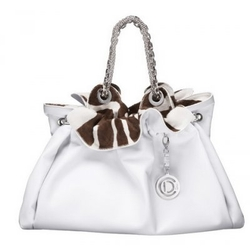 DiorLe 30 长颈鹿皮革花纹内衬手提包