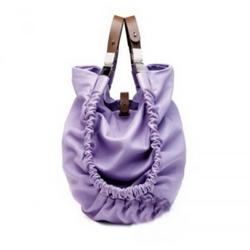 玛尼淡紫色手提包