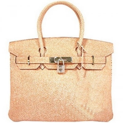 Hermes真皮Birkin包