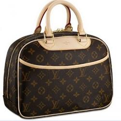 Louis VuittonMonogram帆布系列Trouville手提包