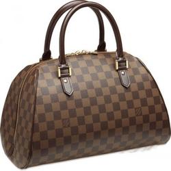 Louis VuittonDamier帆布系列中号Ribera手提包