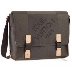 Louis VuittonDamier Geant帆布系列LOUP斜挎包