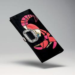 Roger Vivier2011春夏草编手提包-树脂虾形图案