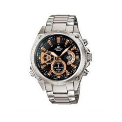 CASIO高端时尚男士钢带手表