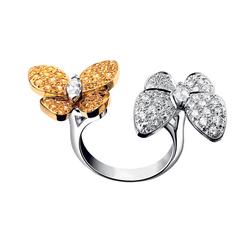 VanCleef&ArpelsDeux Papillons 蝴蝶指间戒