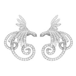 VanCleef&ArpelsOiseaux de Paradis珍爱之鸟-耳环