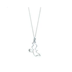 Tiffany & Co鸽子吊饰与项链