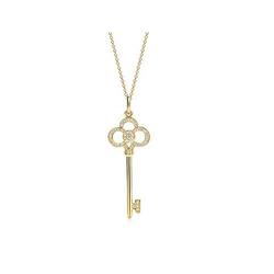 Tiffany & Co心冠钥匙吊坠