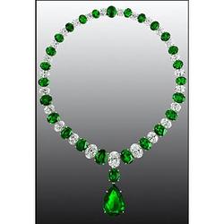 Graff绿宝石项链