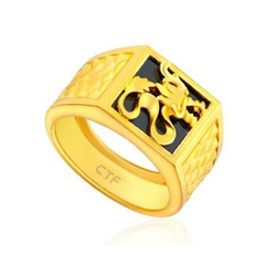Chow Tai Fook权龙护身――黄金戒指