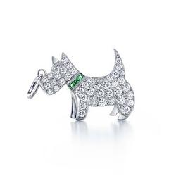 Tiffany & Co小狗吊饰