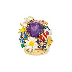 Dior黄金搭配紫水晶