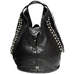 Givenchy,纪梵希黑色TINHAN镶铆钉手提包