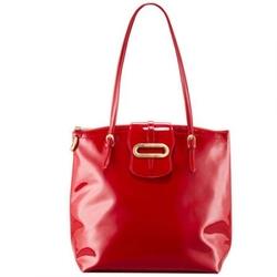 吉米周红色亮面漆皮Tilda奢华手袋(2011年新款)