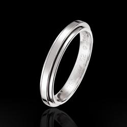 PiagetPossession系列铂金结婚指环