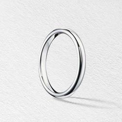 CHANEL,香奈儿1932系列铂金戒指