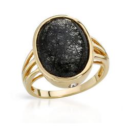 fpj正品  高质量14K黄金8.30克拉总重100%纯正蓝宝戒指