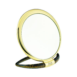 janeke24K璀璨金圆形立镜