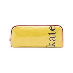 凯特・丝蓓黄色长形化妆包