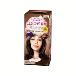 莉婕泡沫染发剂红茶棕色