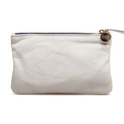 Clare Vivier白色钱包 化妆袋