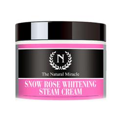自然之名雪玫瑰晶皙蒸汽面霜