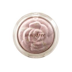 矿物质纯安玫瑰花纹亮颜粉