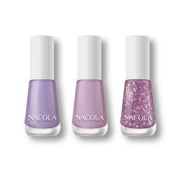 NACOLA英式百变三件组甲油