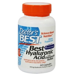 【其他】Doctor's Best玻尿酸(添加硫酸软骨素)胶囊