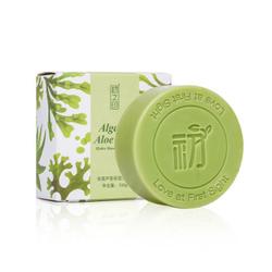 初之印海藻芦荟保湿手工皂