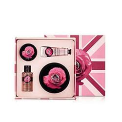 美体小铺玫瑰身体护理奢华礼盒