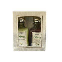 欧榄纯橄榄油精华洗护发组合