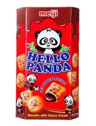 明治熊猫夹心饼干