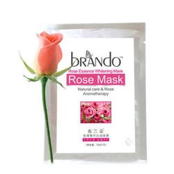 布兰朵玫瑰精华白润面膜