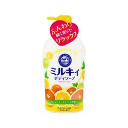 牛牌牛乳嫩白沐浴露(柑橘味)