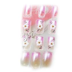 【其他】eleles水晶指甲贴片3D206