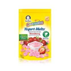 嘉宝草莓味酸奶溶溶豆