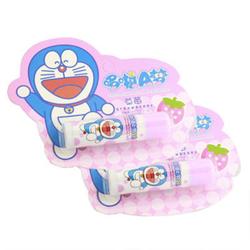 哆啦A梦儿童草莓润唇膏