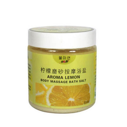 【其他】水美颜 柠檬磨砂按摩浴盐
