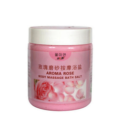 【其他】水美颜玫瑰磨砂按摩浴盐