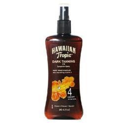 夏威夷热带夏威夷深古铜色SPF4美黑助晒油